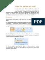 Cómo crear una página web utilizando Word 2010