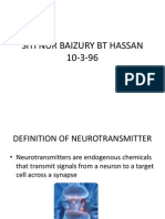Editeddefinition of Neurotransmitter