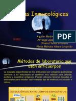 Técnicas de Lab usadas en frecuencia en inmunología