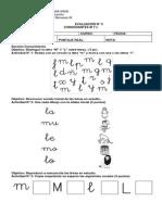prueba lenguaje n° 2