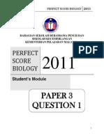 Ps Bio Paper 3 Quest 1student1