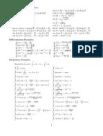 Formulas Procesamiento Digital de señales