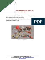 Manual de Instalacion Del Cielo Raso de Pvc