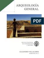 Arqueologia General Programa de Curso