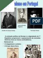 Apresentação Modernismo em Portugal