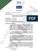 FEMINICIDIOS EN GUANAJUATO - 2013 - UNIÓN GUANAJUATO