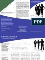 TWG Tri-Fold Brochure