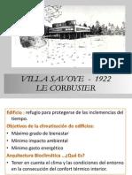 Analisis Casa Villa Savoye