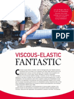 Visco-elastic coatings