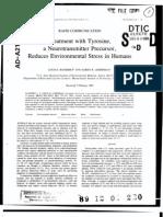 Tyrosine Humans Benefit 1