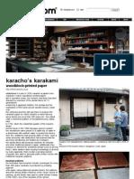 karacho's karakami woodblock-printed paper01