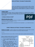 Mec Fluidos Unidad 1_1 Conceptos Fundamentales