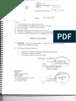Manual de Bioseguridad y Manejo de Residuos Arreglo