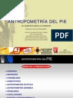 Antropometria Del Pie