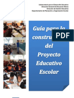 Guía para la construccion del PEE-PRIMARIA 2013-2014