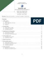 LW 1115 Math245notes(Waterloo)