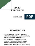 Bab 3 Sosiologi