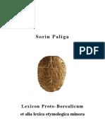 Lexicon Proto-Borealicum et Alia Lexica Etymologica Minora