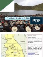 Conflicto Social – Político Conga