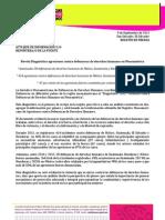 Comunicado de Prensa - Diagnòstico 2012