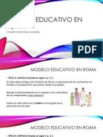 Modelo Educativo en Roma