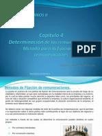 CAPITULO IV Método para fijación de remuneraciones
