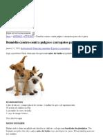 Remédio caseiro contra pulgas e carrapatos para cães e gatos « Rose'space