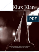 Ku Klux Klan a History of Racism