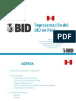 Presentación del BID en Perú