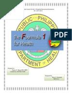 The Fourmula One for Health-.docx