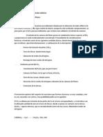 Métodos de obtención del Acido Sulfúrico