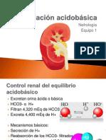 Regulación acidobásica