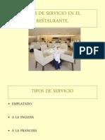 Present Ac i on Tipo s Servicio