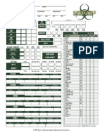 Darwin's World Character Sheet