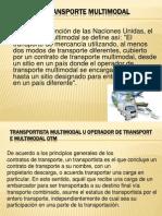 El Transporte Multimodal