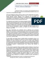 Contribucion Del Parque Nacional Torotoro en El Desarrollo Economico Del Municipio de Torotoro a Traves Del Turismo