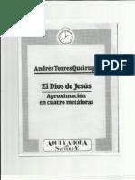EL DIOS DE JESUCRISTO (ANDRÉS TORRES QUEIRUGA)