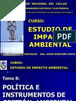 Clase N° 08 y 09 - Políticas e instrumentos de gestión ambiental
