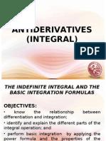 Lesson 1- Basic Integration Formulas