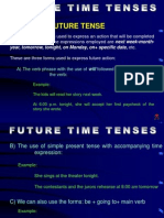 Future Time Tenses
