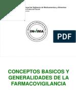 Generalidades de Farmacovigilancia