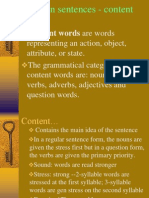 PptStress in Sentences - Content Words
