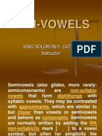 Semi Vowels