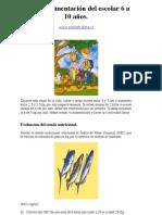1- Guía de alimentación del escolar de 6 a 10 años-pediatraldia