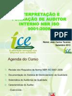 Slides Curso Auditor 9001 - UTFPR