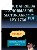 LEY SECTOR AGRARIO BENEFICIOS.pptx
