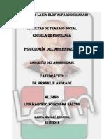 Psicologa Del Aprendizaje Cap.8