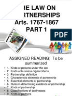 Partnership Part 12(1)