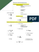 Formulario I Maquinas Hidraulicas