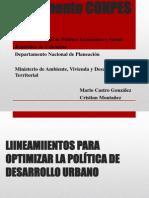 Conpes 3305 Lineamientos Para Optimizar La Politica de Desarrollo Urbano
